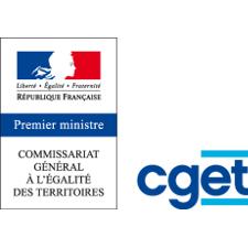 Logo du commisariat général à l'égalité des territoires