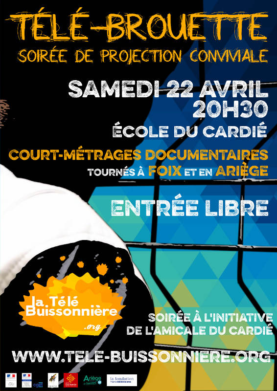 Affiche projection 22 avril